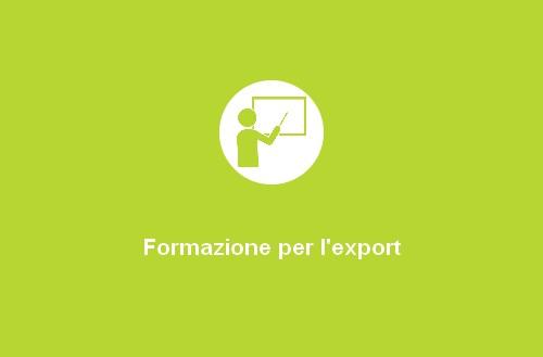 Formazione per l'export