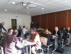 B2B meeting of independent sales agents