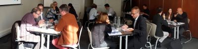sales agents meeting in Paris between Spanish metallurgical companies and French agents