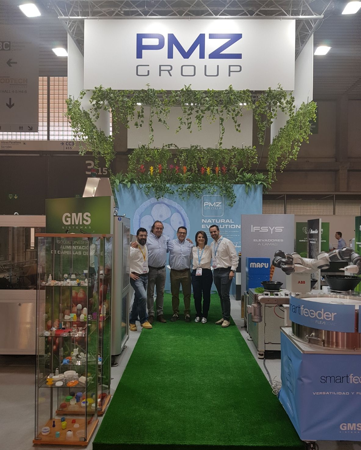 El equipo de GMS